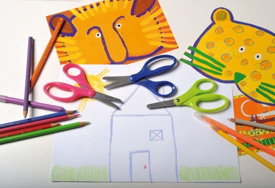 Bezpieczny sposób nauki dzieci kreatywnego cięcia