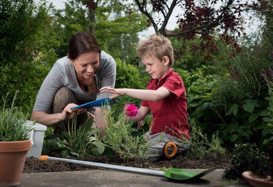 Ogrodnictwo \n- dziecinnie łatwe