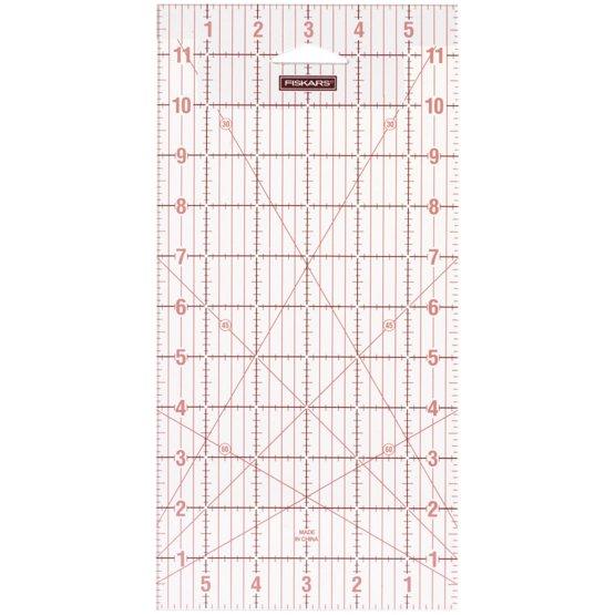 Akrylowa linijka - 6'' x 12''