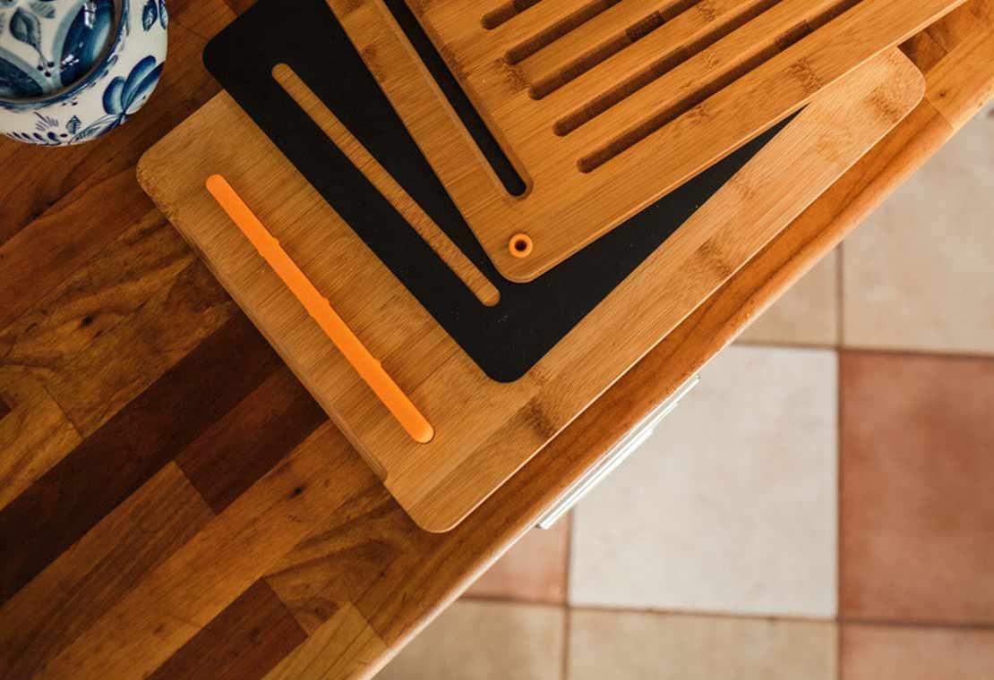 Bambusowy zestaw desek do krojenia Functional Form