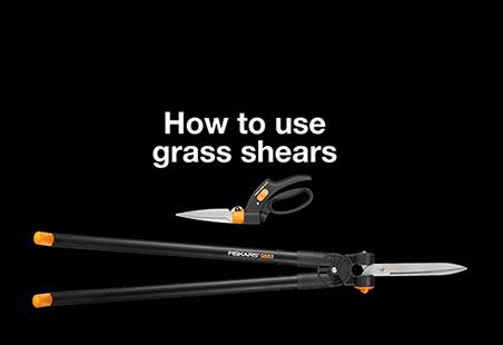 Nożyce do trawy z serwo